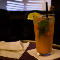 a mango-berry mojito, making use of the endangered mango-berry