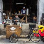 Commune + Co. Pop Up Coffee Shop at Schiller's Salvage