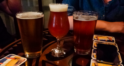Tampa-Bay-Beer-Week-at-Mr-Dunderbaks-X-Ray-Shoes-Belgian-Pale-Ale-Tampa-Bay-Double-IPA-Motorworks-Kolsch