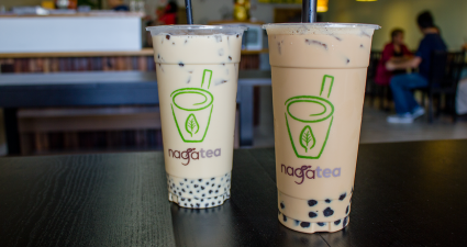 naga tea boba milk tea