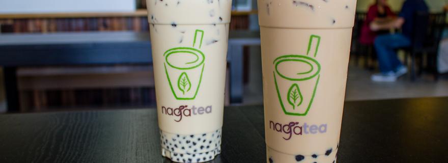 naga tea boba milk tea